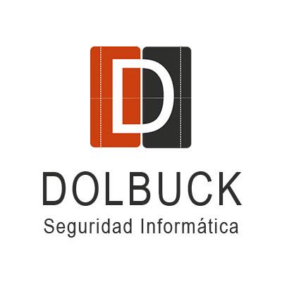Logotipo de Dolbuck Seguridad Informática, una consultora en Ciberseguridad que realiza auditorías de seguridad de la información a empresas, peritaje informático forense, formación en Ciberseguridad y soluciones de mantenimiento informático.